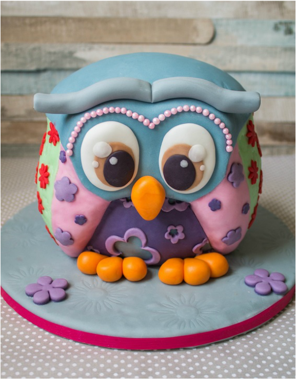 Eulen 3d Torte Muffin Ville