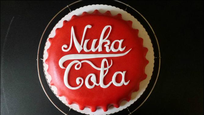 Nuka Cola Kuchen Muffin Ville